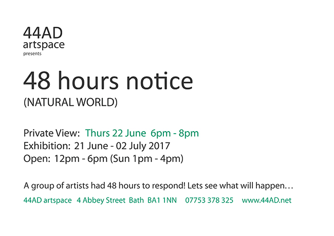 48 Hours Notice: Natural World