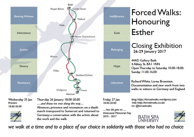Forced Walks: Honouring Esther